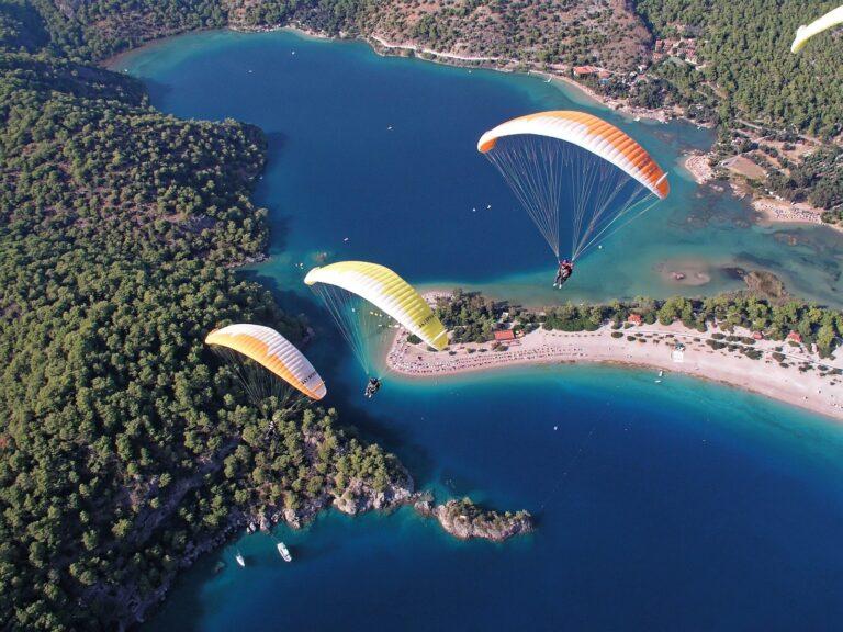 adventures in turkey paragliding