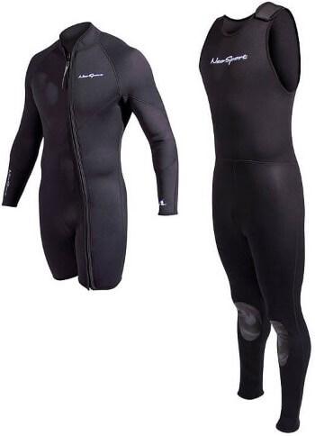 2 piece wetsuit