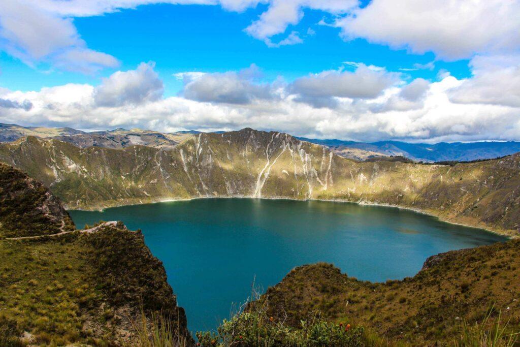 Best treks in south America, Quilotoa, Ecuador
