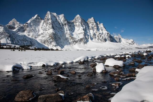 Best winter hikes jasper