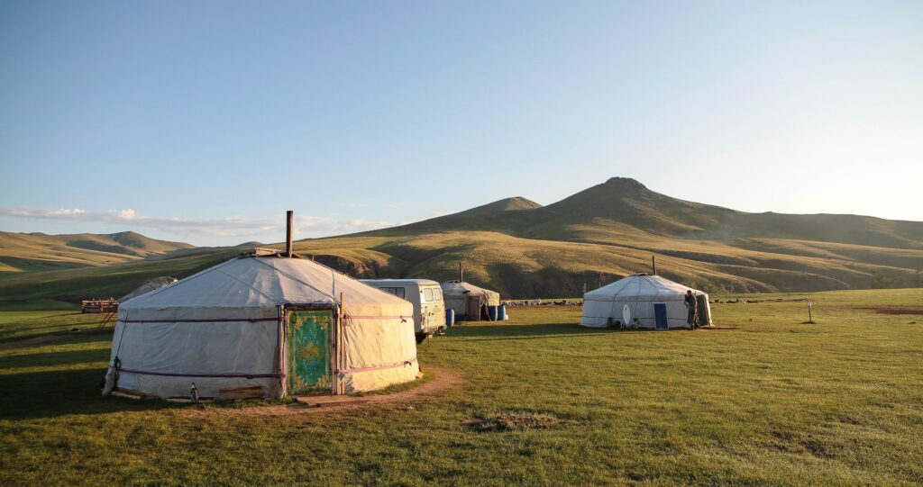 Hiking in Mongolia