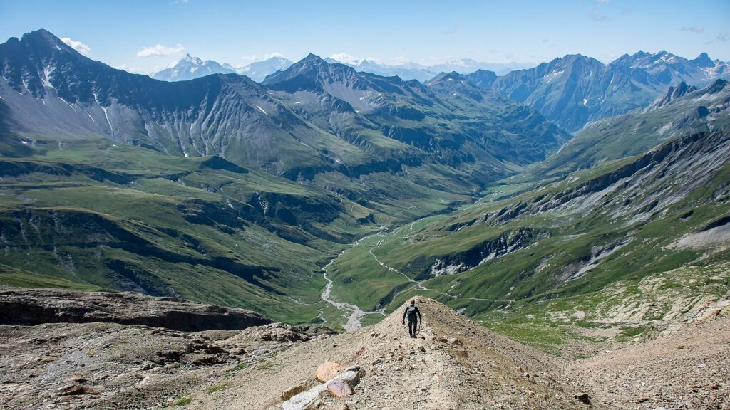 Hiking in the French Alps