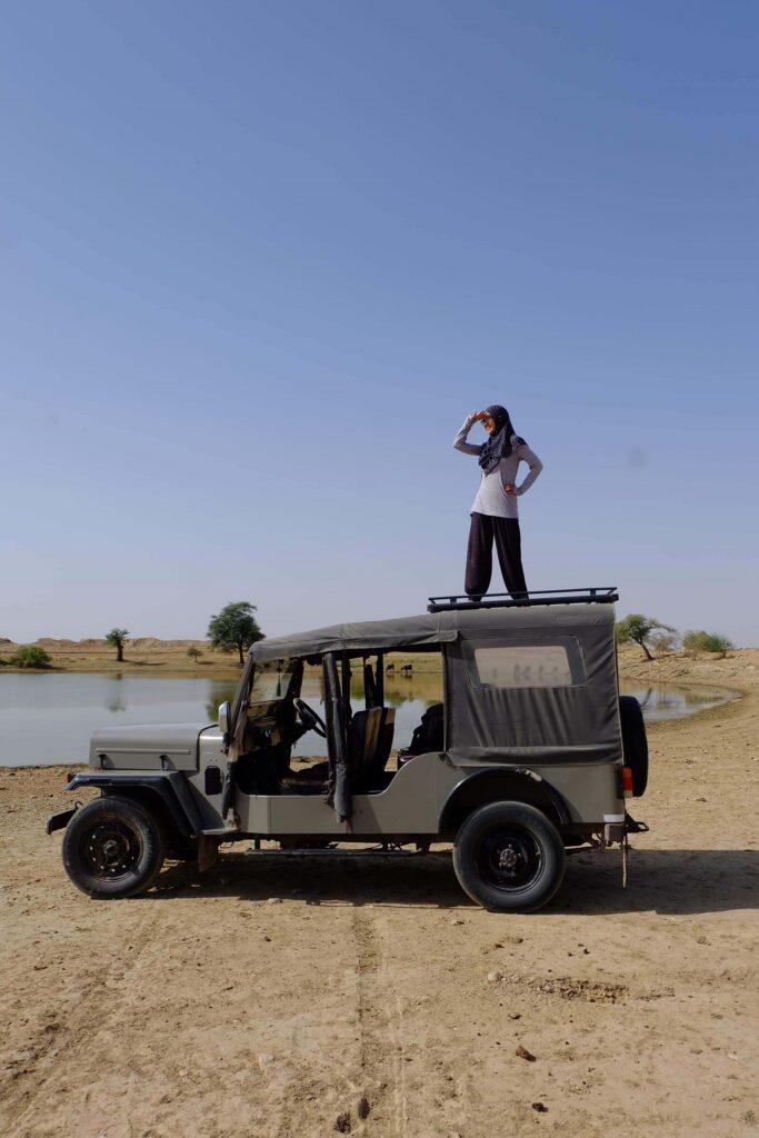 Jeep safari Jaisalmer
