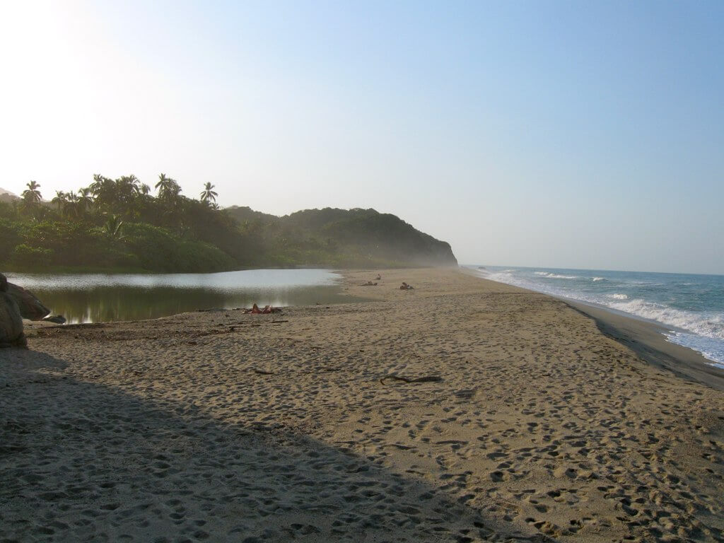 Surfing in Colombia,South America,Magdalena