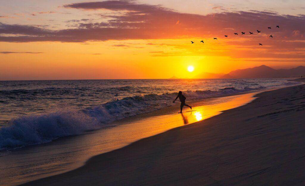 Surfing in South America, Barra, Brazil