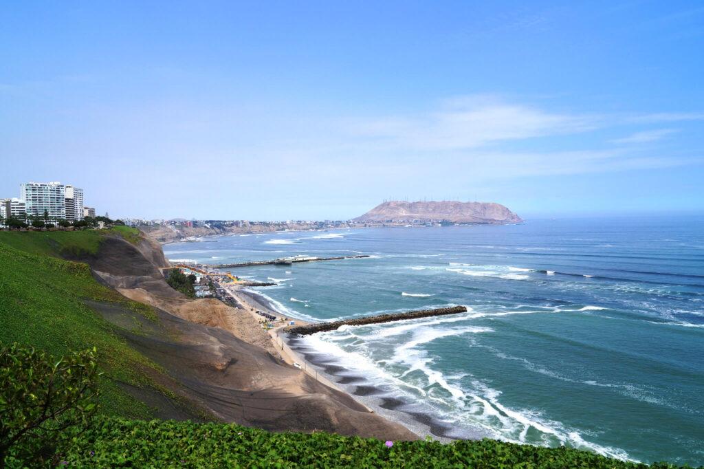 Surfing in South America, Miraflores, Peru