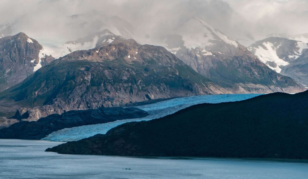 The great Patagonian trail, Grey Glacier, Chile