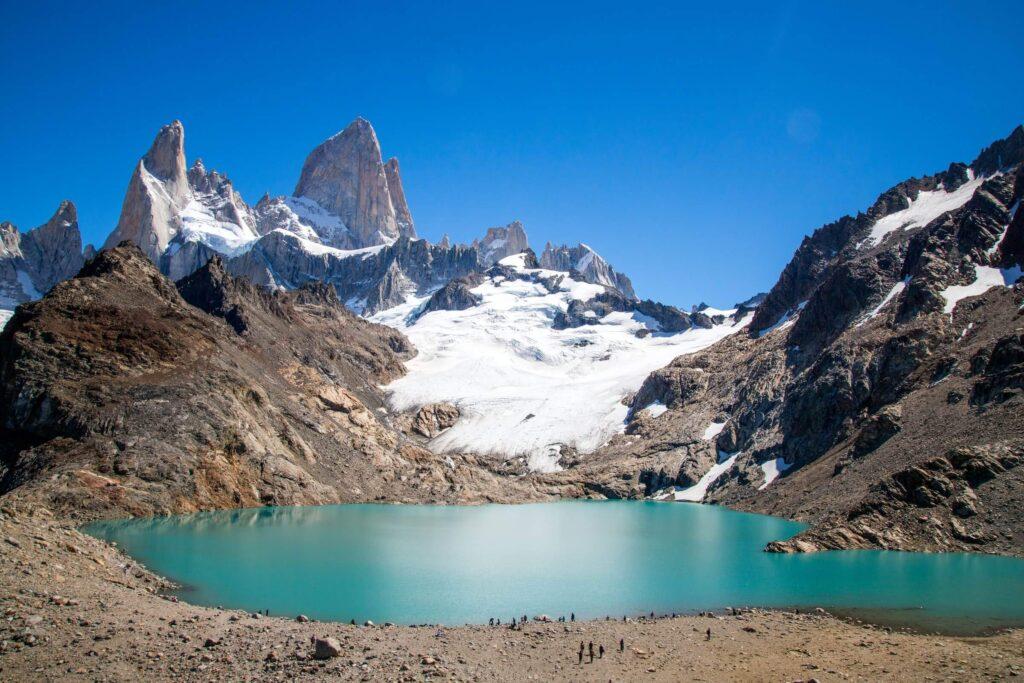 The great Patagonian trail, Laguna de Los Tres, Argentina