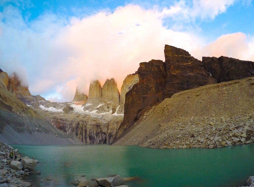 The great Patagonian trail, Laguna Cerro Castillo, Chile
