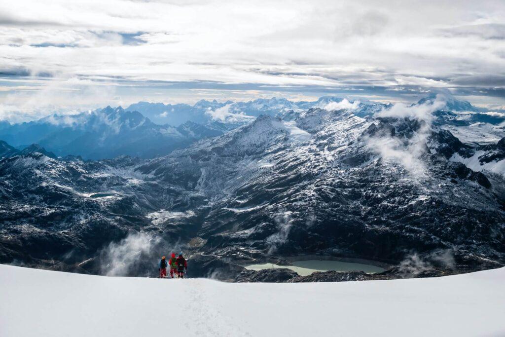 best treks in south America, Huayna Potosi, Bolivia