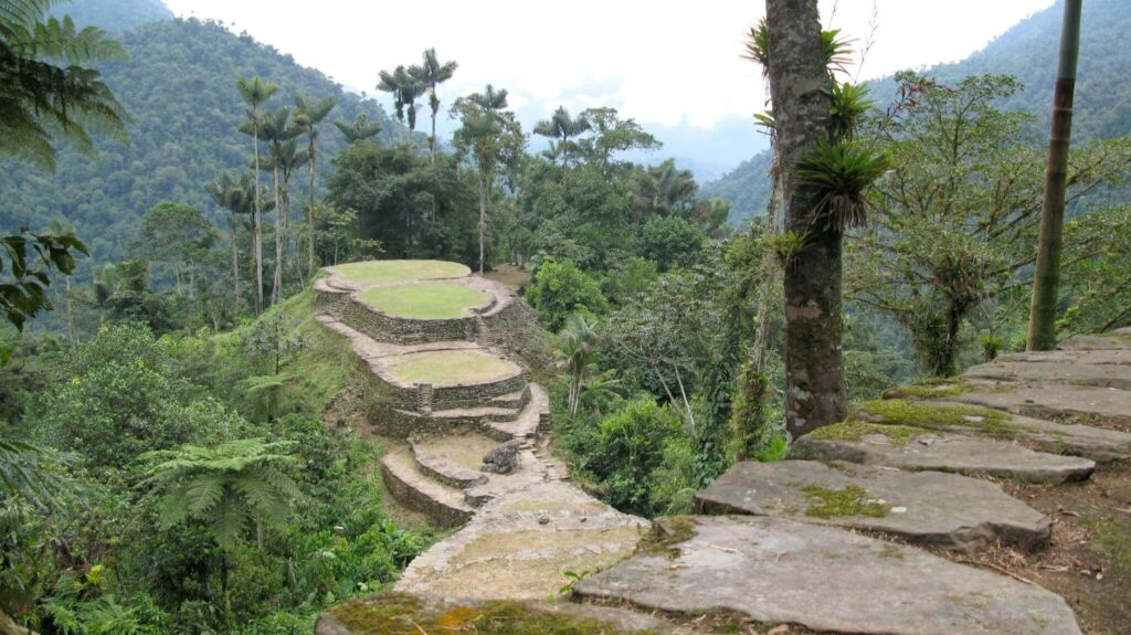 hikes in south America, Lost City Ruins, Colombia