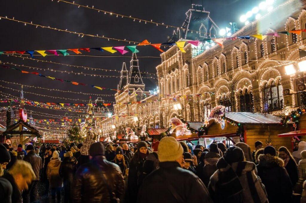 Russia nightlife