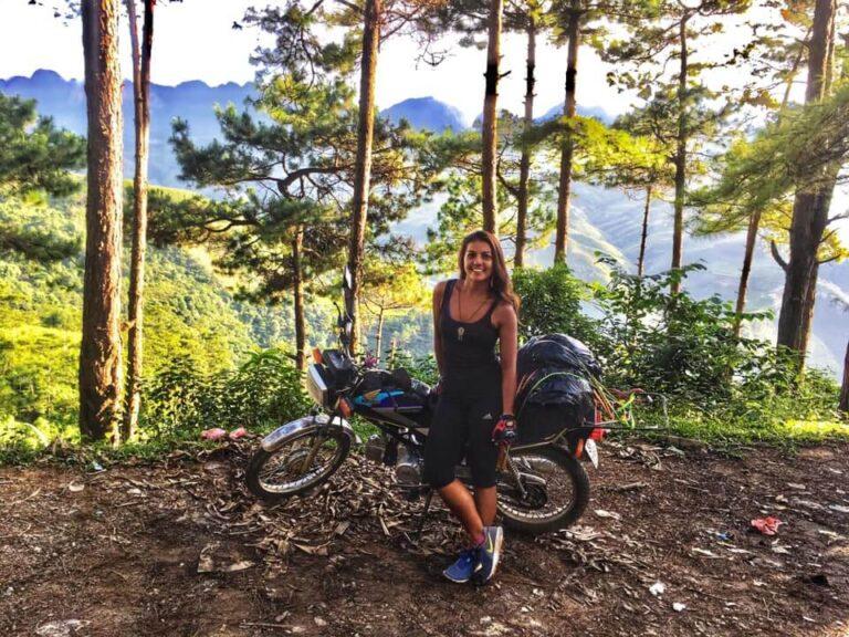motorbike trip in vietnam