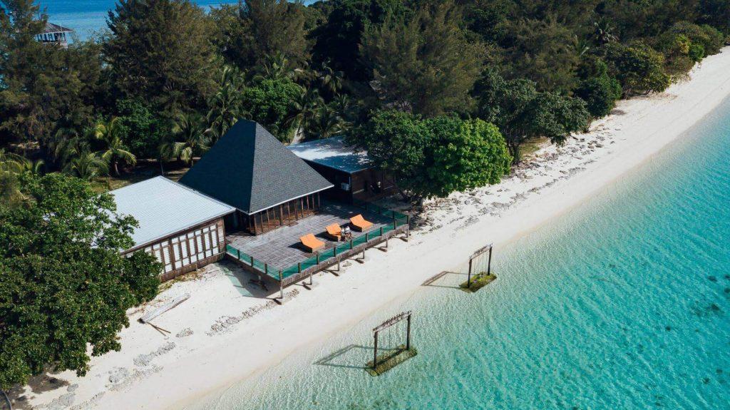 beautiful beaches on Sabah Island