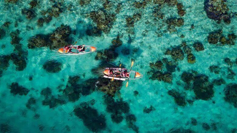 beautiful island in Sabah