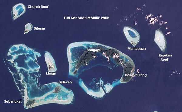 island at Sabah
