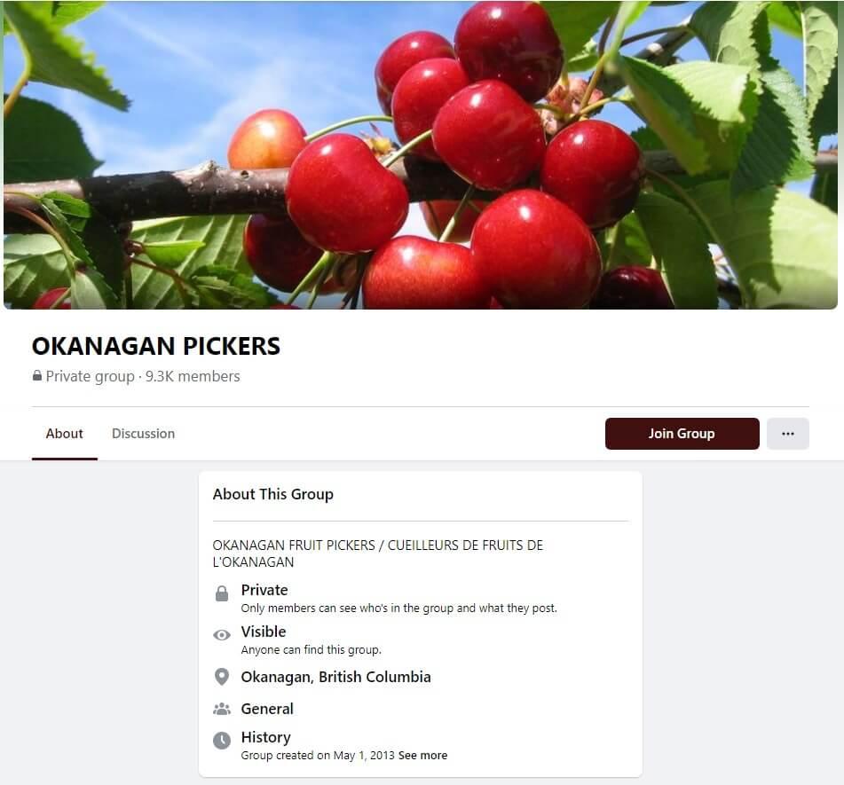 Fruit Picker In Canada